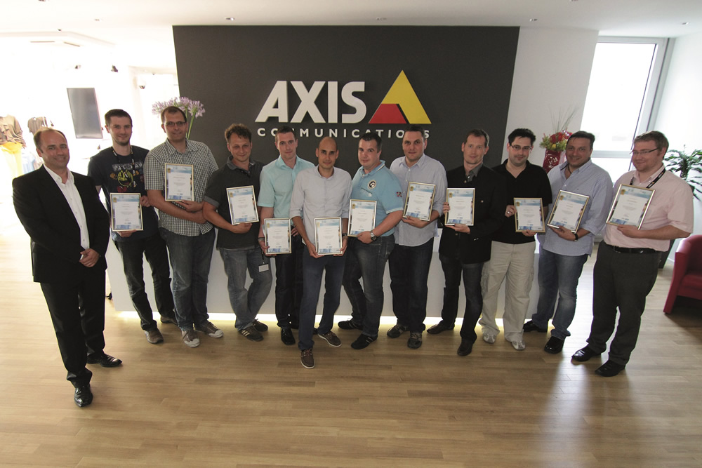 VTIS ist Axis Certified Professional Partner