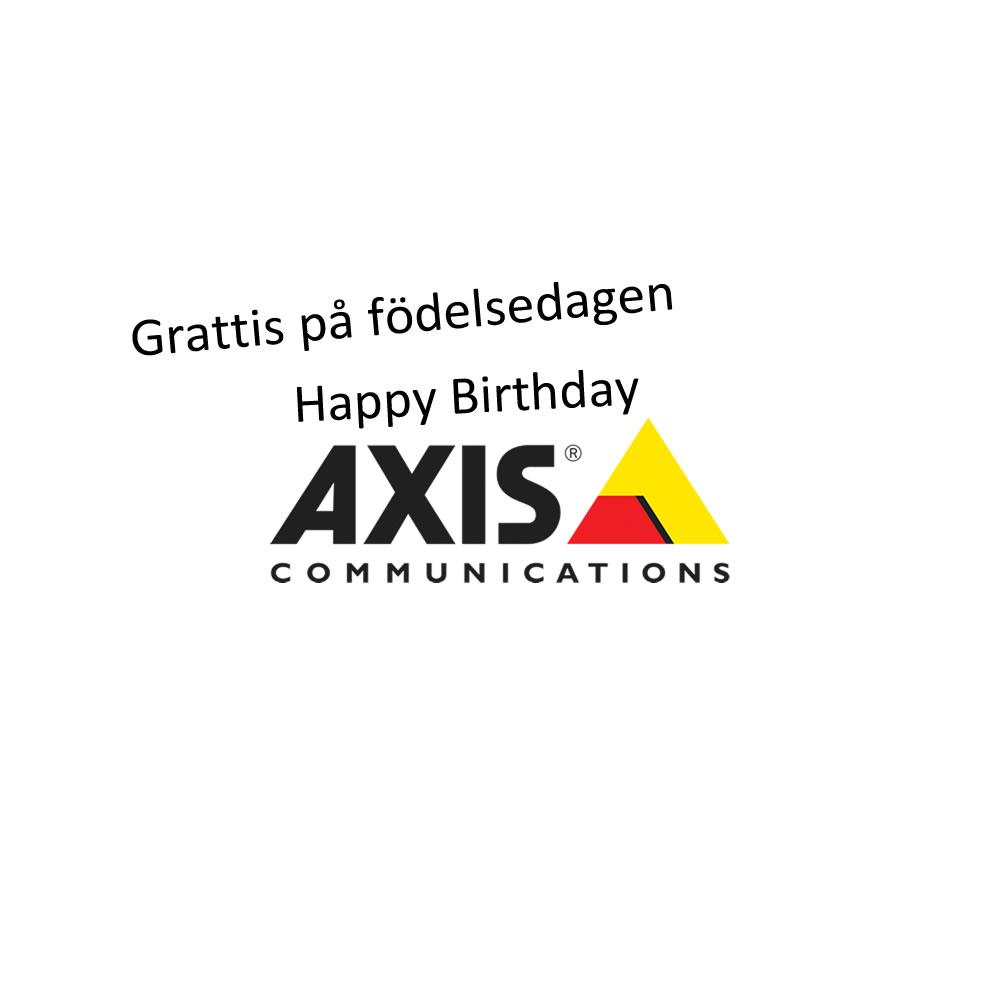 Happy Birthday Axis