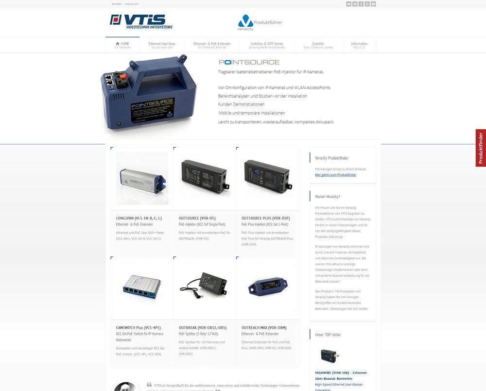 VTIS Veracity Produktführer