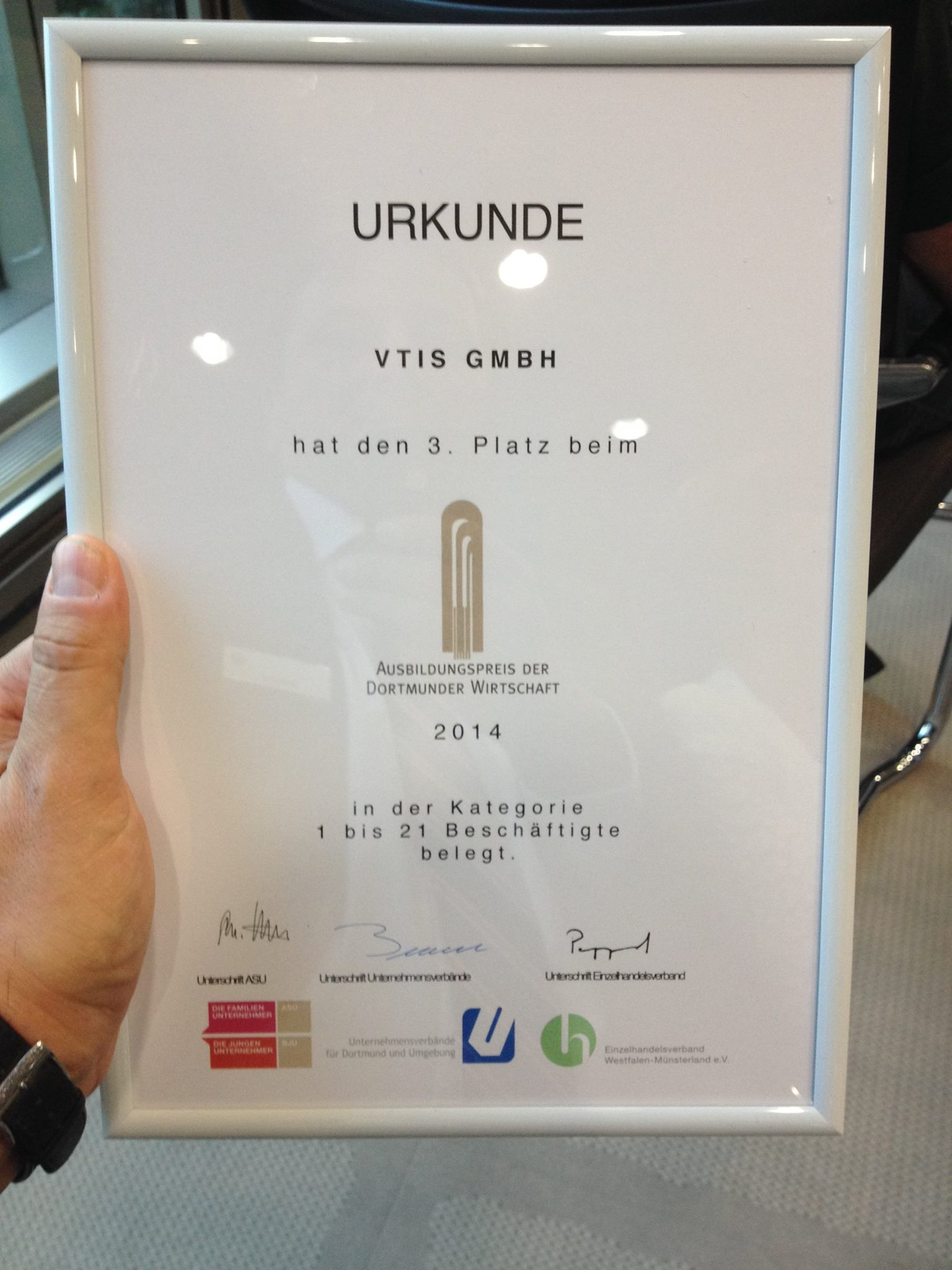 Ausbildungspreis 2014 (Bild 1)