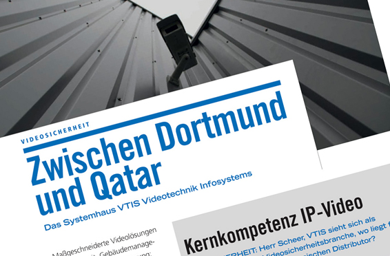 VTIS Interview in der GIT SICHERHEIT 9/2014