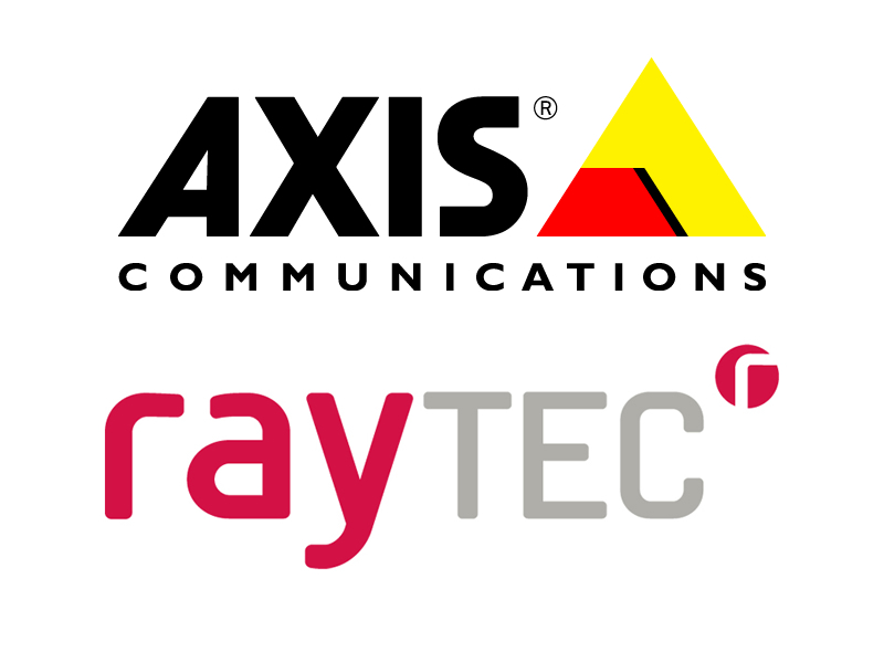 Axis integrates Raytec illuminators