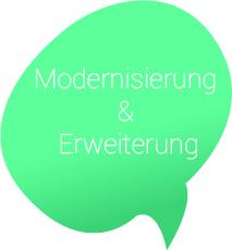 Modernisierung und Erweiterung