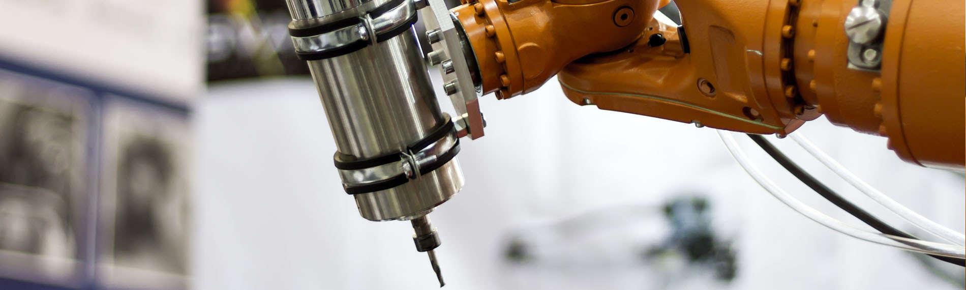 Imaging-Technologien in der Industrie im Einsatz an einem Roboter