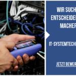 VTIS sucht IT-Systemtechniker