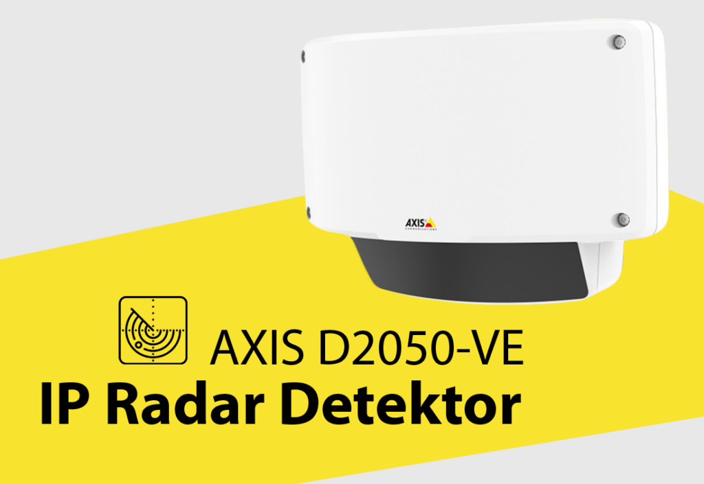 AXIS D2050-VE Radar Detektor